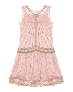 Super cute flower girl Flapper dress... Ohmygosh