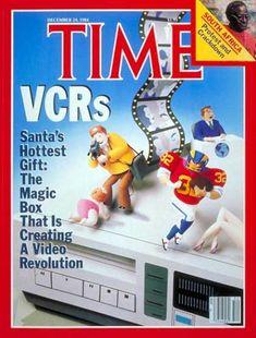 Time - Video Cassette Recorders - Dec. 24, 1984 - VCRs