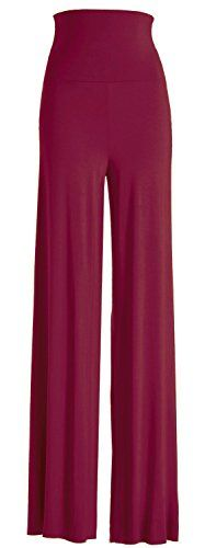 VIV Collection Women's Solid Wide Leg Palazzo Boho Gaucho Pants (Small, Wine) VIV Collection http://www.amazon.com/dp/B00IZT7OWK/ref=cm_sw_r_pi_dp_CYTewb15QNN8H