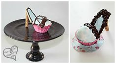 high heeled cupcakes!!