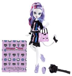 Amazon.com: Monster High New Scaremester Catrine DeMew Fashion Doll: Toys & Games
