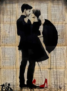 "Saatchi Art Artist Loui Jover; Drawing, ""one"" #art"