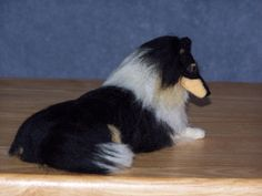 Collie+needle+felted+dog+custom+made+to+order+by+foxfirespark,+$85.00