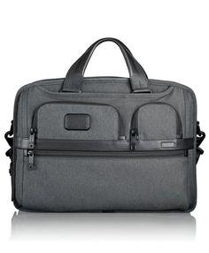 Tumi | Alpha 2 | T-Pass® Medium Screen Laptop Slim Brief Style#: 26516AT2 in Anthracite