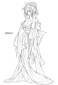 ArtStation - Hone-onna, Steve Zheng