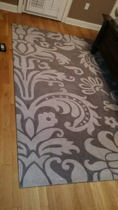 Brand new 8x10 handmade Wool Rug. No stains or wear. Originally $550 selling for $350. Can take more pictures. It is dark and light grey. Call text or Email. Two Five six seven six 3 three 7 zero...