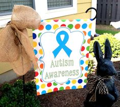 Custom Personalized Garden Sign Autism by Wheredyougetthatflag