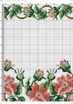 Beaded Cross Stitch, Cross Stitch Flowers, Cross Stitch Embroidery, Cross Stitch Patterns, Holiday Crochet Patterns, Butterfly Embroidery, Chicken Scratch, Hobbies And Crafts, Needlepoint