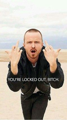 Jesse Pinkman from Breaking Bad, Bitch.