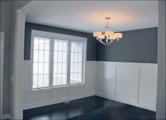wainscoting classic dining room - Google Search