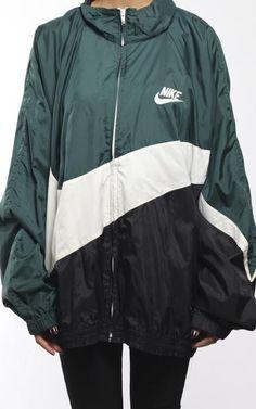 Vintage Nike Swoosh Windbreaker Jacket