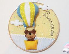 Bastidor com Urso no Balão