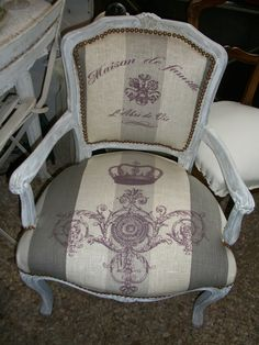 love this French chair