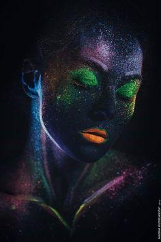 Anche nella notte..  i colori dell'anima..  continuano a brillare