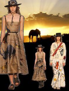 RESORT 2018-Christian Dior @dior #resort #2018 #dior #catwalk #tekdesen #design #studio #textile #print #printdesign #fashion #bursa #turkey #hulyayalcin #trend #board #colours #animal #mythological #greece #style #sun #horse #shadow #black