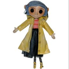 "Free Shipping. Buy NECA Coraline Coraline 10"" Doll at Walmart.com"