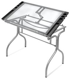 Studio Designs Folding Craft Station... Folding Drafting And Drawing Table  Craft Station,