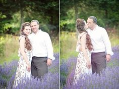 Lavender Love Wedding: Laura and Aaron