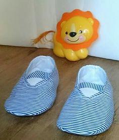 Sapatinhos em tecido