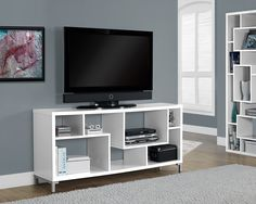Monarch Specialties Tv Stand - 60L / White