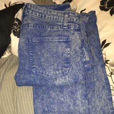 [27] American Apparel Straight Leg Stone Wash Jean American Apparel • Stone Wash • 27 • Straight Leg • Flaw: in 3rd pic, discolor on bottom from ground but will wash • Since these were $80 when I purchased and only have 1 flaw they will NOT be under $40 • SHIPPING EVERY DAY!! Same day shipping • FAST • 100% Guaranteed Feel free to  Make me an offer • Comment • Ask questions • I'd be happy to help! American Apparel Jeans Straight Leg