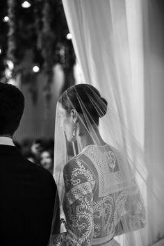 Vanessa Traina's Givenchy wedding dress #bride #style #fashion