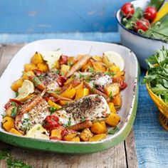 Chicken with Moroccan-Spiced Vegetables