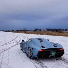 The Koenigsegg Regera On Snow! - Follow: @fe_motorworks - The #1 Car Page On Instagram! @fe_motorworks @fe_motorworks  #FE_MotorWorks #KoenigseggMotors #Koenigsegg #Regera #Ice #HyperCar #KoenigseggRegera | Via: @shmee150 | by koenigseggmotors