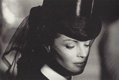 Romy Schneider in Visconti's Ludwig (1972), photo by Mario Tursi