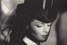 Romy Schneider in Visconti's Ludwig (1972), photo by Mario Tursi