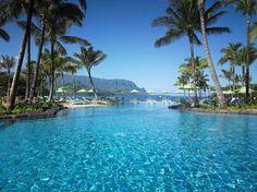 Resort St. Regis Princeville Resort, Kauai, Hawaii.