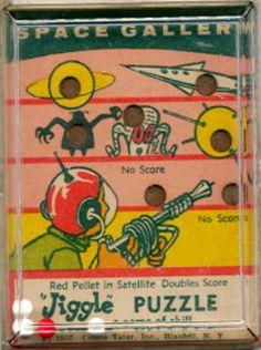 "zgmfd: "" UFO jiggle puzzles by Comon Tatar (1957) """