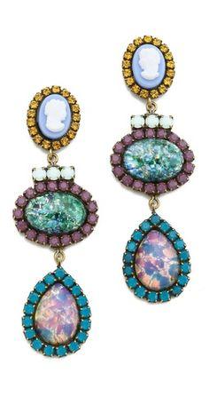 kendra earrings // dannijo
