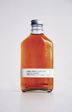 Keep it simple. Kings County Distillery Bourbon Whiskey
