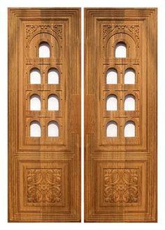 Front Door Design Wood, Pooja Room Door Design, Wooden Door Design, Main Door Design, House Front Design, Gate Design, Home Window Grill Design, Grill Door Design, Traditional Front Doors