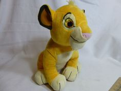 "Kohls Cares Simba Plush Stuffed Animal Cuddly Toy Disney The Lion King 12""  #DisneyKohlsCare"