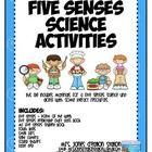 Five Senses Science Materials:This file includes materials for a five senses science unit along with some literacy resources.Includes:Fiv...