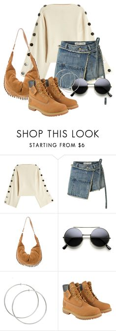 """""""Cocountry"""" by bedwinargd on Polyvore featuring Petar Petrov, Sandy Liang, The Row, Timberland, country, Fall, outfit, casualoutfit, hangout and greatlooks"""