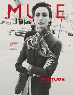 Erin O´Connor - Muse F/W 2015 Covers (Muse Magazine)