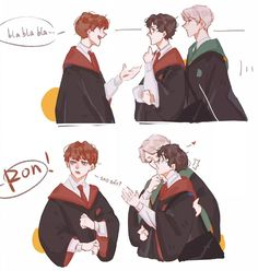 Harry Potter Fan Art, Harry Potter Comics, Mundo Harry Potter, Harry Potter Feels, Harry Potter Draco Malfoy, Harry Potter Ships, Harry Potter Anime, Harry Potter Jokes, Harry Potter Fandom