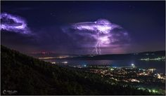 """@severeweatherEU: WOW! Thunderstorms over Starigrad Paklenica, Croatia last night. By: Marko Katić pic.twitter.com/7a3WJItTN2"""