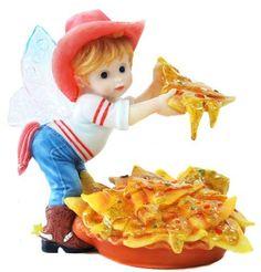 Enesco My Little Kitchen Fairies Fairie Serving Nachos Figurine, 4-Inch