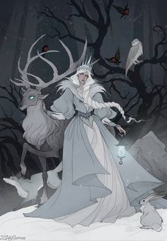 """""""Yule Blessings and happy solstice witches! Character Concept, Character Art, Concept Art, Character Design, Witch Music, Happy Solstice, Yule, Fantasy Characters, Art Inspo"""