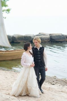 Reign, season 3, episode 5, In the Clearing. Frary looking so in love.