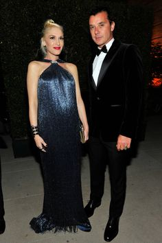 Art Stars: Gwen Stefani in Ferragamo and Gavin Rossdale