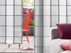 Front Slat Roman Shade using Tabasco 3197 Traditional Interior, Fabric Shades, Roman Shades, Different Styles, Personal Style, Simple, Modern, Decor, Trendy Tree