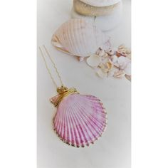 Seashell Hair Pin, Sea Shell Clip, Purple and Pink Bobby Pin, Wedding... ($9.89) ❤ liked on Polyvore featuring accessories, hair accessories, pink hair clips, pink hair accessories, barrette hair clip, bridal hair clips and bobby hair pins