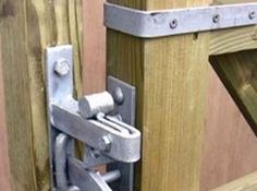 Ingenious Metal Gate Code Lock And Stanley Best Iron Gate