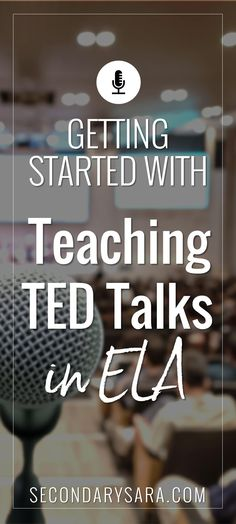 Blog Post - How we got started watching, analyzing, and writing TED talks in a middle school English class