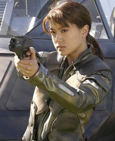 Grace Park (played Boomer Valerii on Battlestar Galactica)